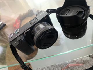 Sony a6300 con dos lente nueva poco uso , Puerto Rico