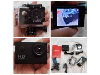 Sport Cam Waterproof Full HD 1080P, Puerto Rico