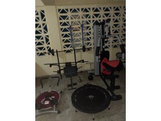Maquinas de ejercicios, Puerto Rico