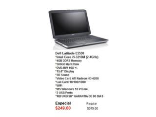 LAPTOP DELL PRE OWNED, Puerto Rico