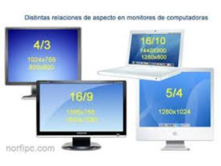 Monitores   de computadoras varios tamanos, Puerto Rico