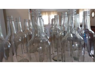 Botellas de Cristal de 1 litro, Puerto Rico