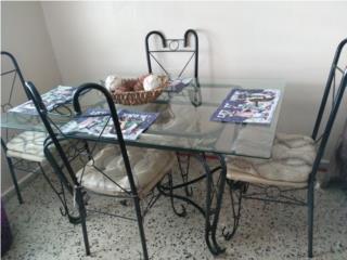 Mesa de comedor,Exc Cond..$80..OMO, Puerto Rico
