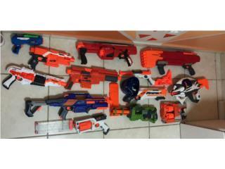 10 + pistolas nerf , Puerto Rico