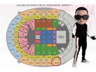 taquillas un poco separadas para Daddy Yankee, Puerto Rico