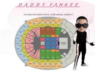 Taquillas para Daddy Yankee HOY VIERNES, Puerto Rico