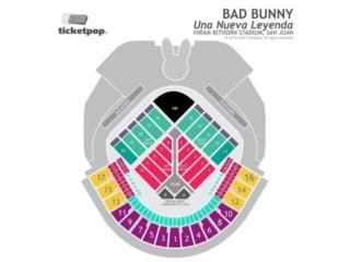 Taquilla Bad Bunny - Sábado, 16 de mayo, Puerto Rico