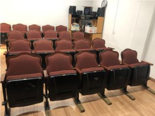 Butacas del Teatro Tapia , Puerto Rico