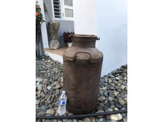 Envase antiguo en cobre, Puerto Rico