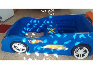 Cama Carro Hotweels poco uso $250, Puerto Rico
