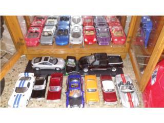 17 Autos a Escala 1/18 y 1/24, Puerto Rico