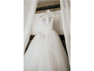 Vestido de novia 2018 corte princesa , Puerto Rico
