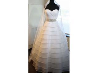 Hermoso traje de novia, size 8 , Puerto Rico