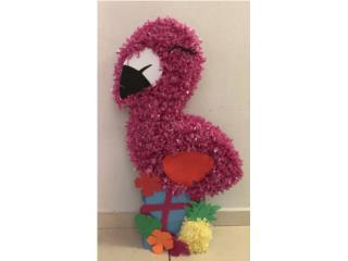 Piñata Decorativa Flamingo, Puerto Rico