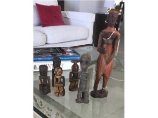 6 tallas en madera, , Puerto Rico