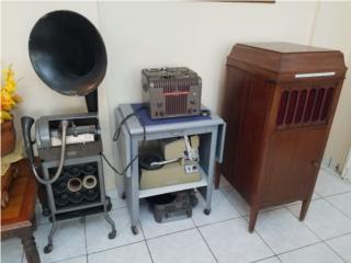 Grabadoras de cilindro-alambre Thomas Edison, Puerto Rico