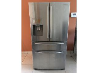 Nevera Samsung Stainless Steel French Door, Puerto Rico