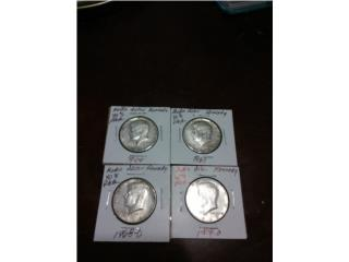 Medio pesos Kennedy, Puerto Rico