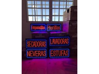 Letreros open, Puerto Rico