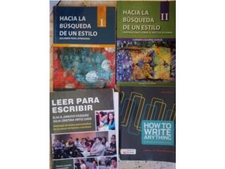 Libros de español e inglés, Puerto Rico