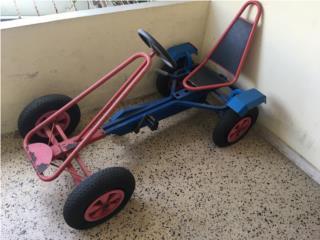 Carro de cadena con comas de aire , Puerto Rico