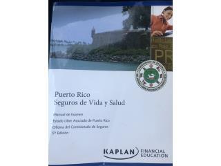 Manual de Examen seguros Vida y Salud, Puerto Rico