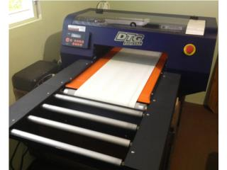 Impresora Textil DTG Viper Printer (t-shirts), Puerto Rico