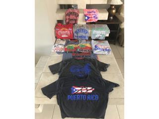 T shirt con diferentes estampados , Puerto Rico