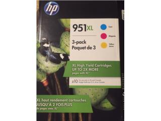 Tintas HP 951 Paquete de 3 colores, Puerto Rico