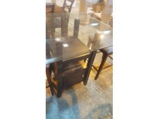 Juego de comedor 4 sillas gris nuevo en caja, Puerto Rico