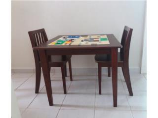 Mesa de legos , Puerto Rico