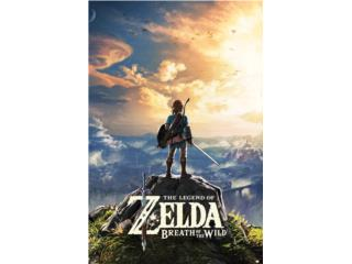 Legend of Zelda Breath of the Wild Nintendo Switch, Puerto Rico