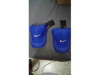 Dos gorras Nike color azul nuevas sin usar, Puerto Rico