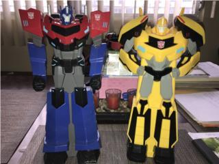 Alcancias de Transformers $10.00, Puerto Rico