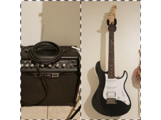 Guitarra Yamaha Pacifica y Line 6, Puerto Rico