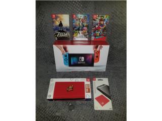 Nintendo Switch Console w/3 games, Puerto Rico