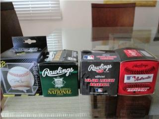 Aut. bolas de beisbol de Grandes Ligas Nuevas     , Puerto Rico