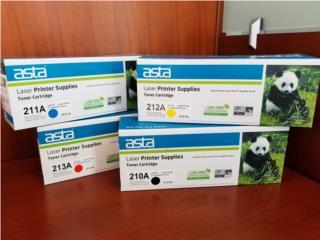 Toners compatibles HP CF210A, 211A, 212A, 213A, Puerto Rico