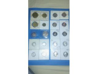 Varias Monedas Hacienda PR y US, Puerto Rico