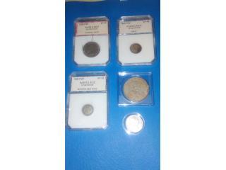 Coleccion Monedas PR, Puerto Rico