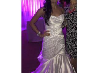 Traje de novia estilo Sirena, Puerto Rico