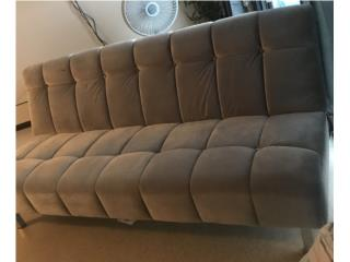 Sofa/cama $250.00 es nuevo! Color gris microfibra , Puerto Rico