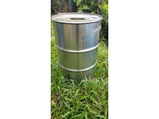 Drano de Stainless Steel de 55 galones, Puerto Rico