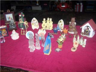 25 piezas de artesanias, Puerto Rico