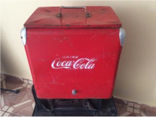 Neverita de Coca-Cola de los años 50, Puerto Rico