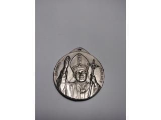 Medalla de plata, Juan Pablo II, Puerto Rico