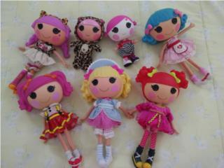 Colección muñecas Lalaloopsy 7 x $45, Puerto Rico