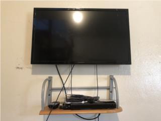 Tv 32' con dvd y su base para la pared , Puerto Rico