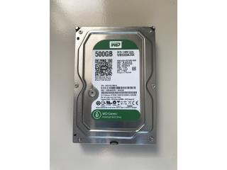 WD Green 500GB HDD, Puerto Rico