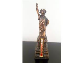 Figura de la Estatua de la Libertad Vintage, Puerto Rico